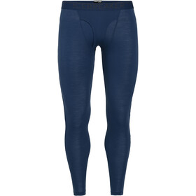 Icebreaker 175 Everyday Leggings with Fly Herre estate blue
